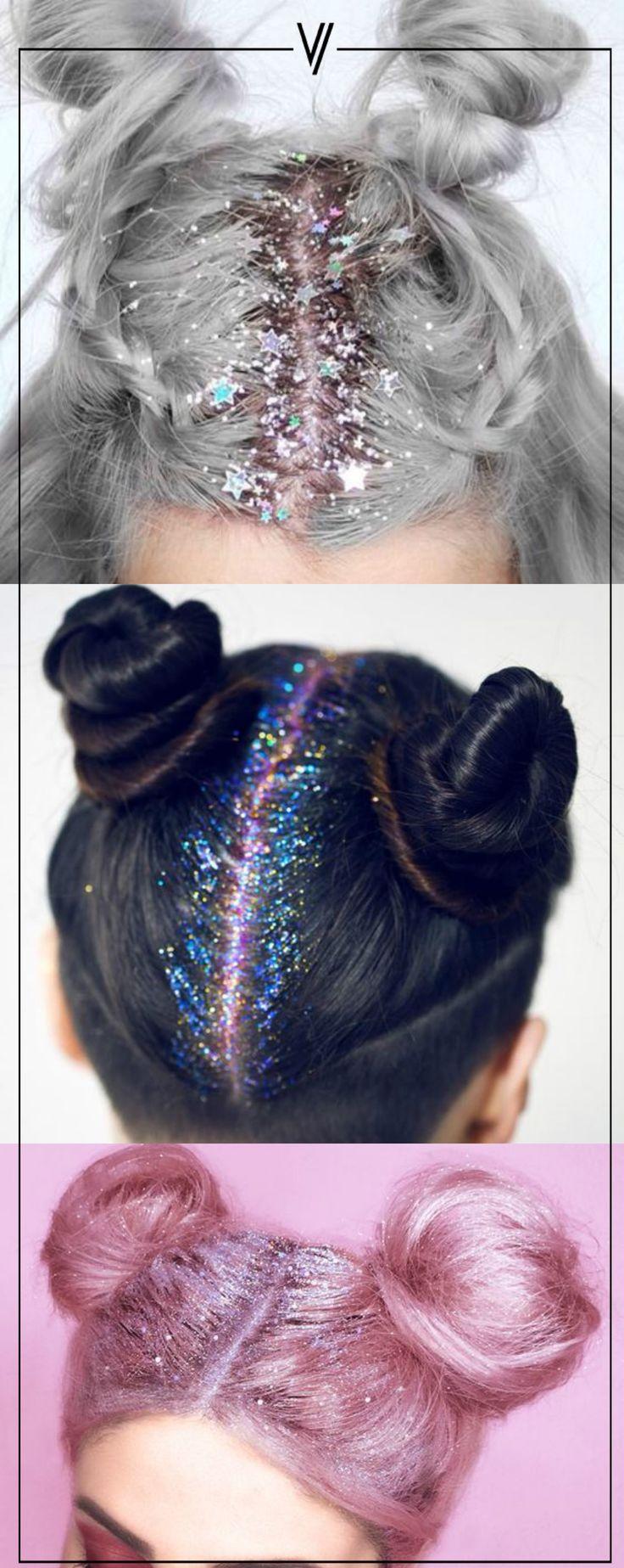 ¡Atrévete!  #Glitter #Hair
