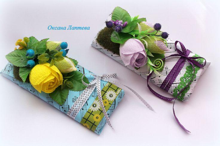 Gallery.ru / Фото #138 - Букеты из конфет 2 - laptewaoxana