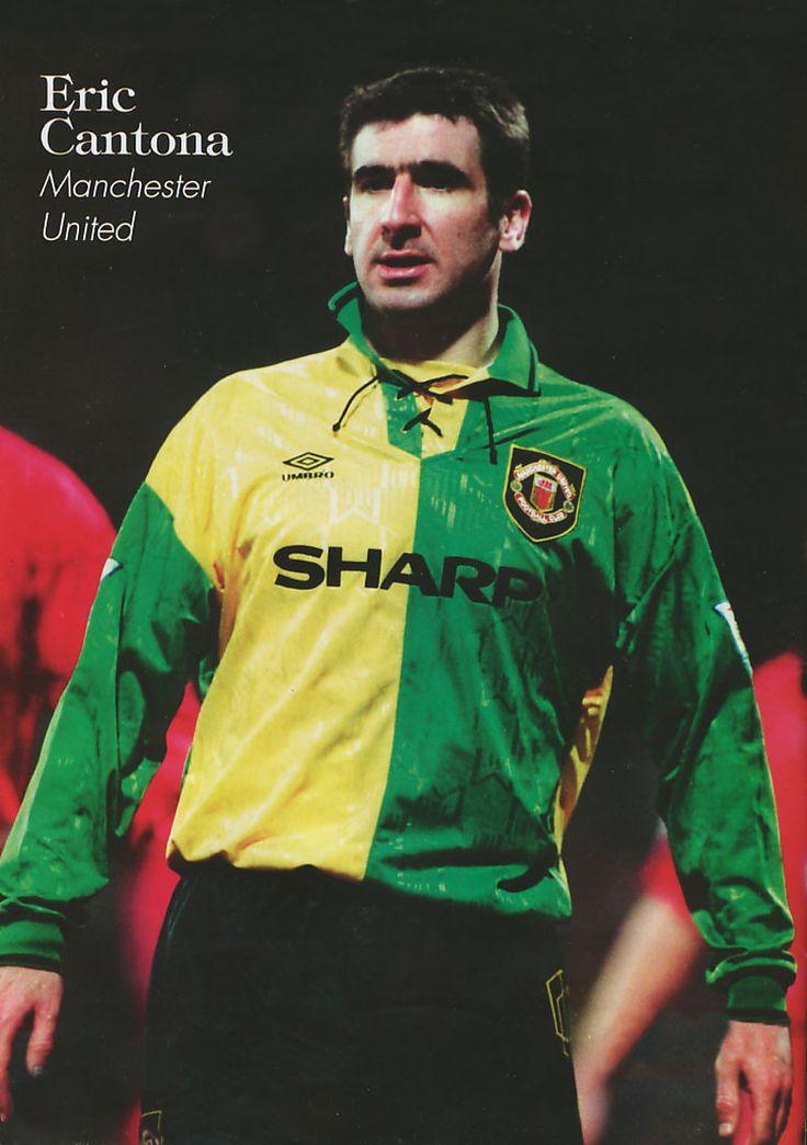 Eric Cantona, Manchester United.