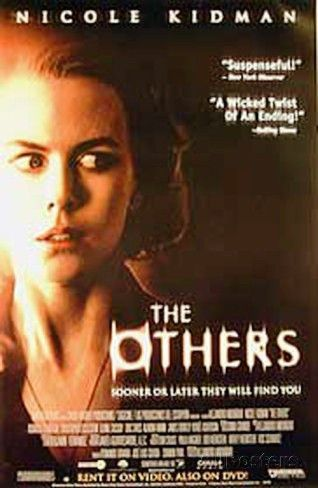 The Others Movie Poster 27x40 Used Keith Allen, Fionnula Flanagan, Nicole Kidman, Michelle Fairley, Renee Asherson, Eric Sykes, Elaine Cassidy, Ricardo López, Christopher Eccleston
