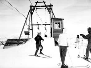 Top of Wildcat Single Lift  Skiing, Ski, Utah, Ogden, Snowbasin, Snow Basin