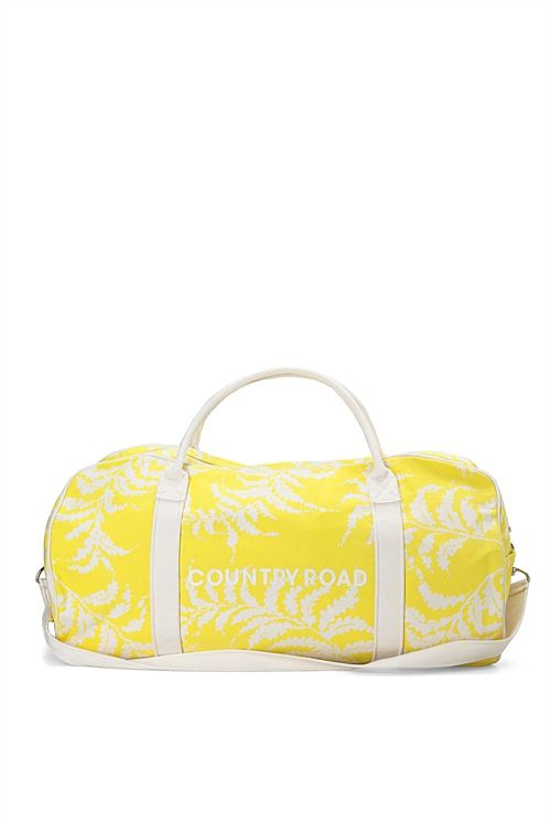 Fern Print Logo Tote--You can NEVER go wrong with a Country Road tote bag for teen girls.