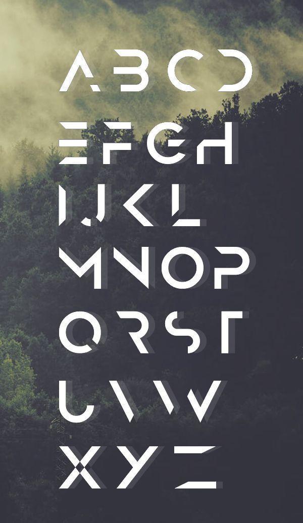 Anurati Font Letters
