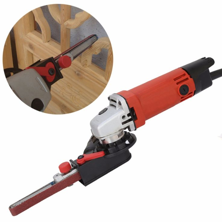 """Cheap Power Tool Accessories, Buy Directly from China Suppliers:Sander Machine Sanding Belt Adapter Head Convert M10 With Sanding Belts For 4"""" Electric Angle Grinder Mayitr Woodworking Tools"""