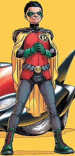 Damian Wayne as Robin - Robin (comics) - Wikipedia, the free encyclopedia