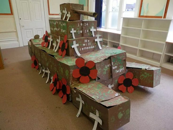 Rememberance day art & craft activity for primary school or secondary school students