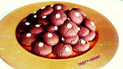 Tasty~Mam: ΑΦΡΑΤΑ ΣΟΚΟΛΑΤΕΝΙΑ COOKIES