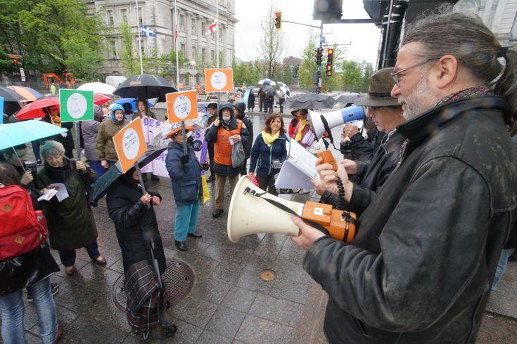 Manifestation pour une tarification sociale des transports en commun