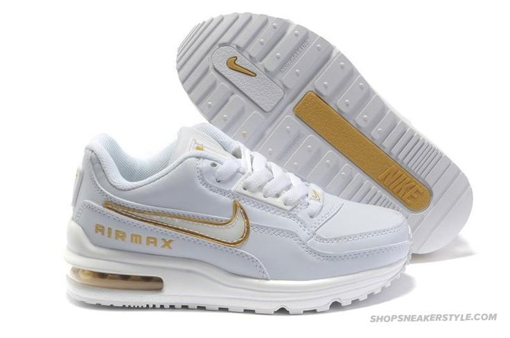 Nike Air Max Ltd 1 White/Golden Kid Shoes