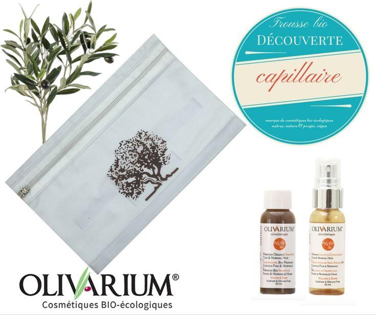Trousse bio découverte capillaire - Olivarium #douxgood #cadeau