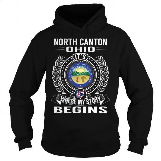North Canton, Ohio Its Where My Story Begins - #boys #customize hoodies. MORE…