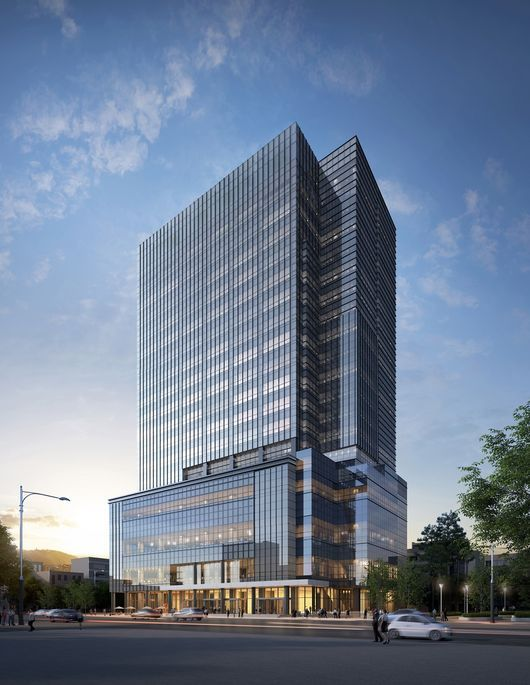 Bts S Label Big Hit Entertainment To Move To New Expanded Hq Soompi Gedung Arsitektur Bangunan