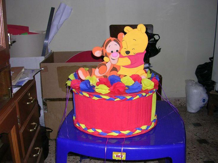 mi cotillon de pooh y tiger bebe pasen   dulceros   Pinterest ...