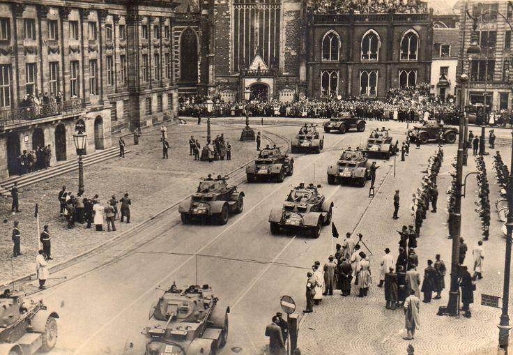 The Netherlands. Amsterdam, Liberation Day 1945 ...