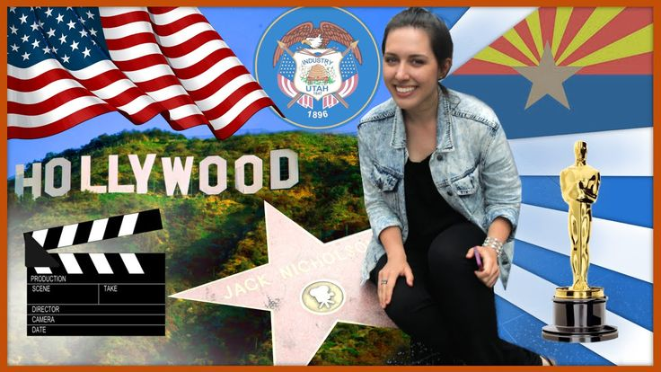 ПУТЕШЕСТВИЕ ПО США / HOLLYWOOD!!! / CALIFORNIA, UTAH, ARIZONA, NEVADA (В...