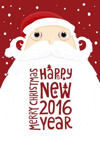 """Новогодняя открытка """"Дед Мороз"""" — Сервис Поштар"""