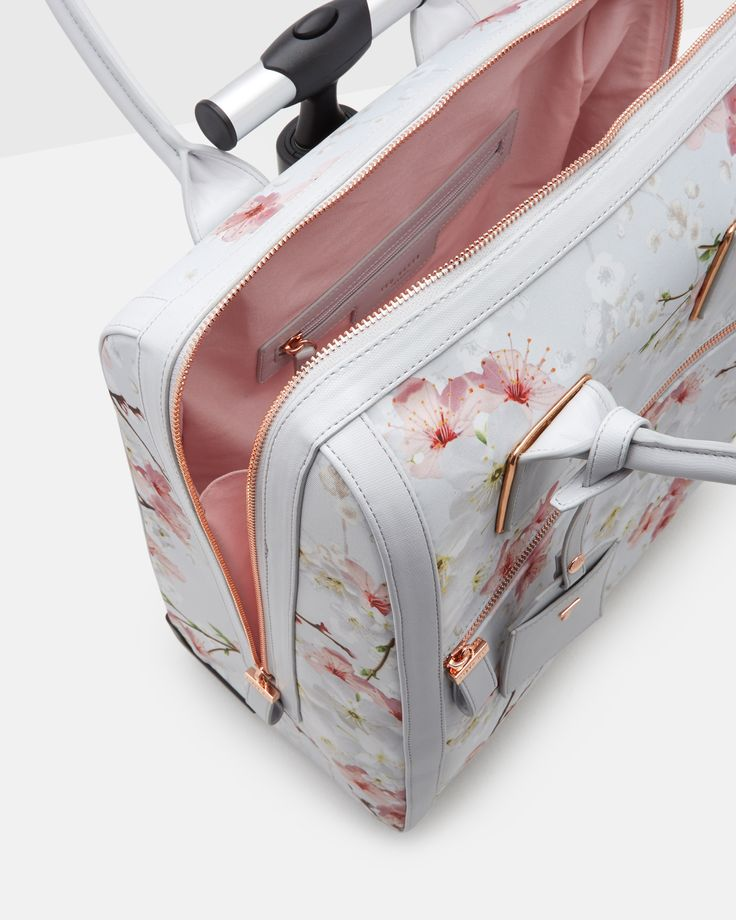 Oriental Blossom travel bag - Light Grey | Bags | Ted Baker UK
