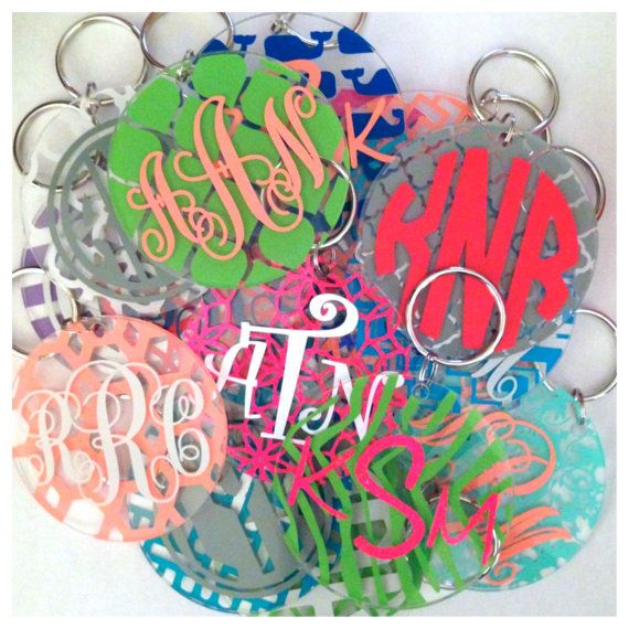 92 best images about key chains on Pinterest | Tassels, Monogram ...
