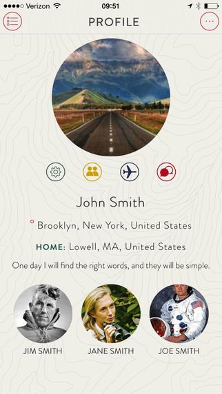 Social Travel Apps - The Gypsy Circle App Lets You Connect With Friends In Your Travel Destinations (GALLERY)