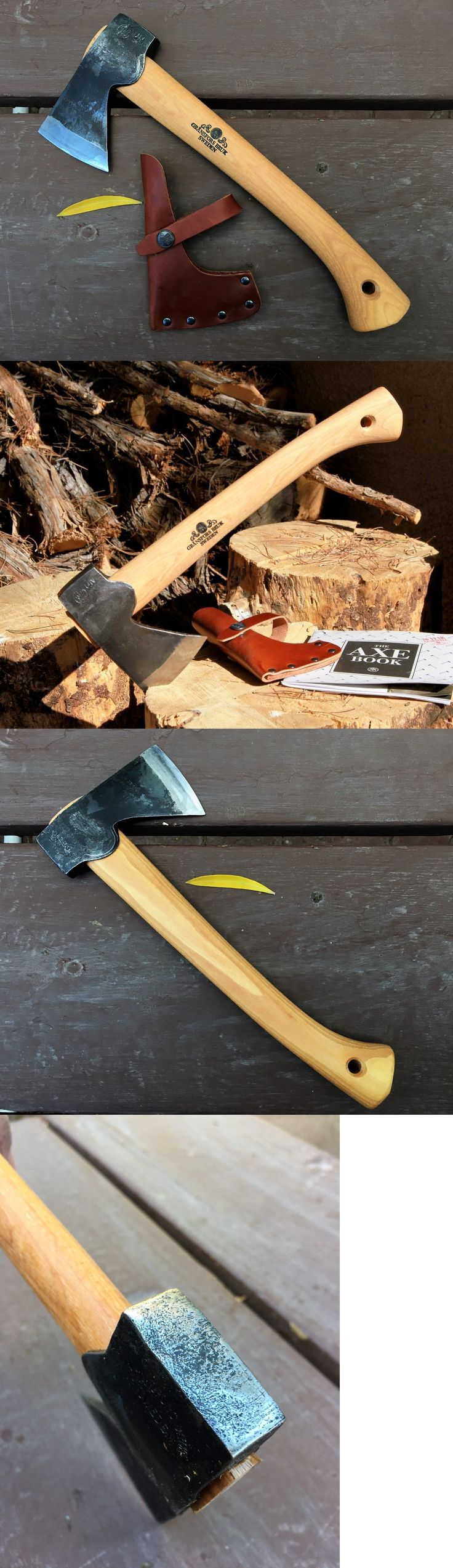 Camping Hatchets and Axes 75234: Gransfors Bruk Wildlife Hatchet #415 BUY IT NOW ONLY: $145.0