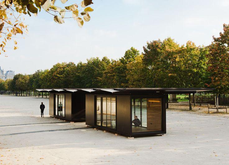 Le pavillon modulable Bouroullec  MilK decoration