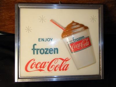 Pours coke clit