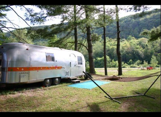 Kates Lazy Meadow Hidden In The Catskills Of New York This Airstream Hangout Is