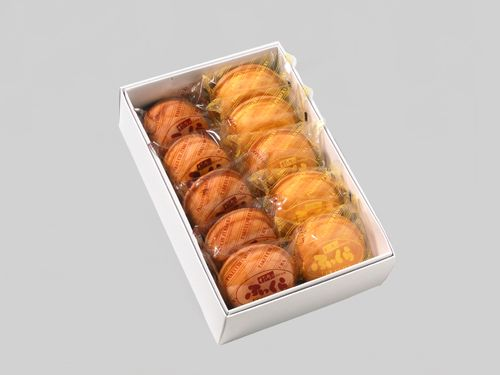 みそまんじゅう本舗 竹内 - 商品詳細表示 - ふっくら 10ヶ箱入