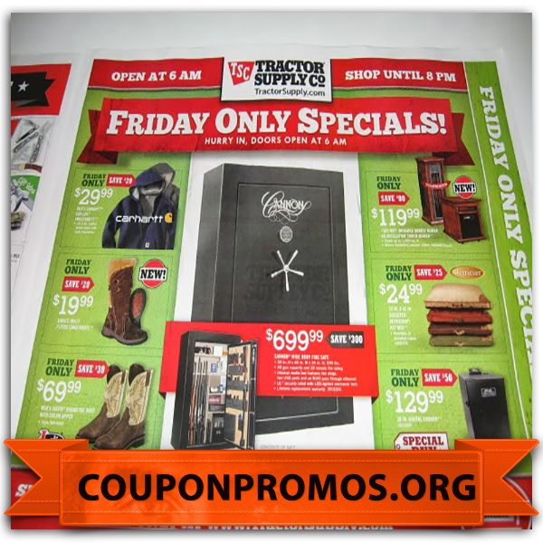 It's just a photo of Gutsy Tractor Supply Coupon Printable