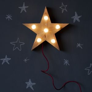 MINI LENA star lamp - awesome holiday gift idea for kids
