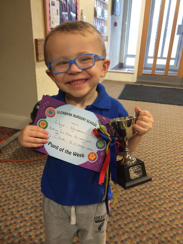 Pupil of the week !