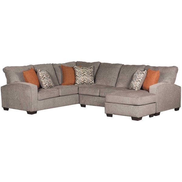 2pc Endurance Sectional W Raf Chaise Sectional Furniture