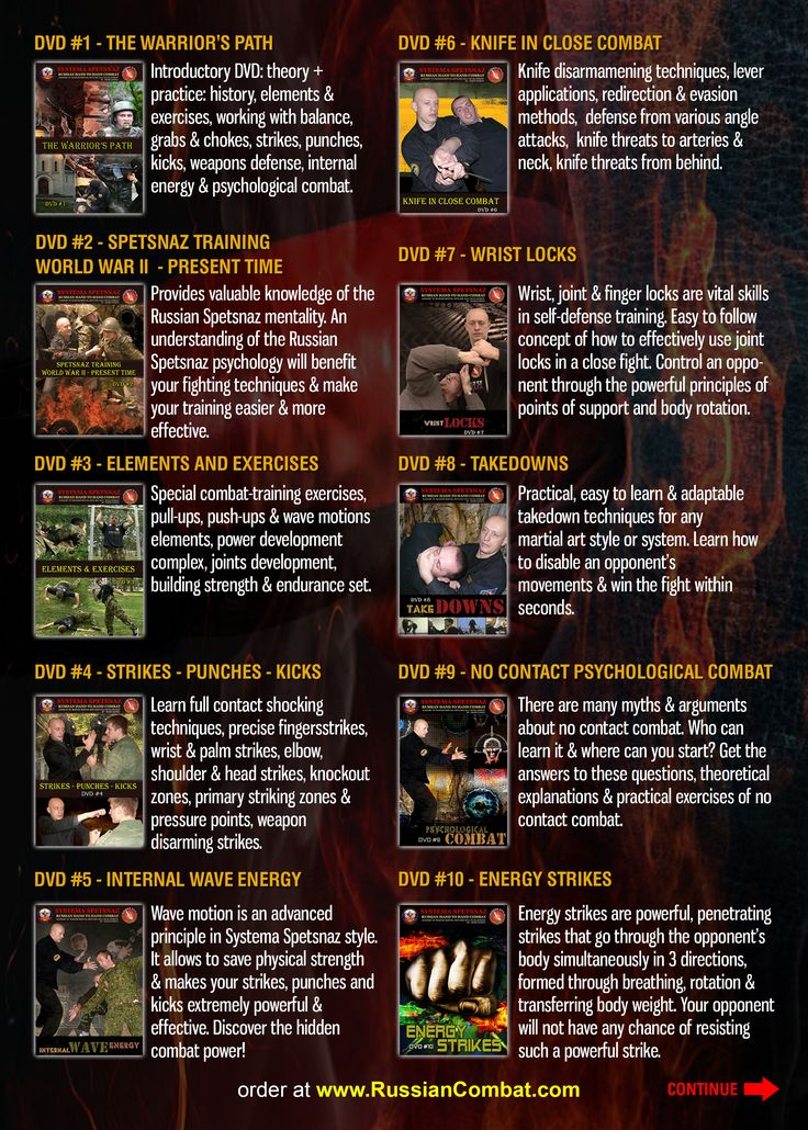 Pin by webhotel247 com on SYSTEMA SPETSNAZ - RUSSIAN MARTIAL