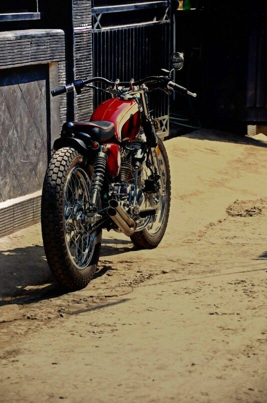 Honda cb 100 #streettracker | caferacerpasion.com