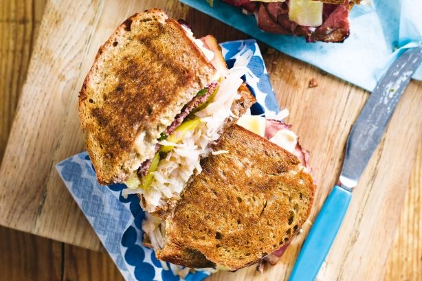 This is an American-deli classic, made famous by Katz's Delicatessen in New York.