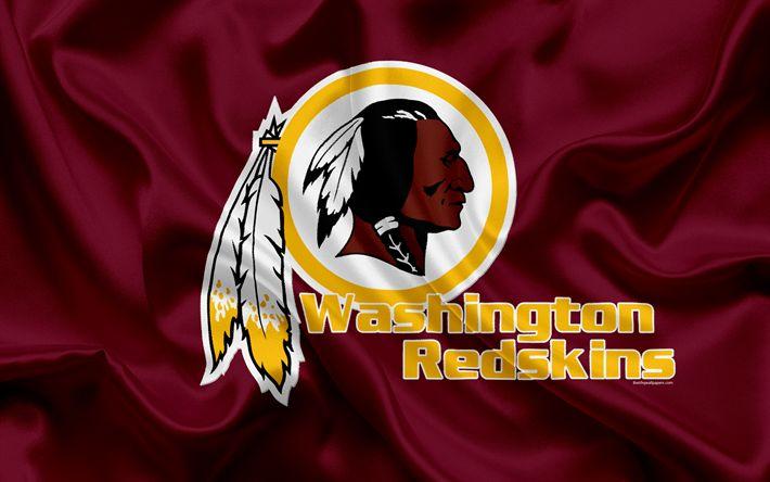 Descargar fondos de pantalla Redskins de Washington, el fútbol Americano, logotipo, emblema, la NFL, la Liga Nacional de Fútbol americano, Washington, estados UNIDOS, de la Conferencia Nacional de Fútbol
