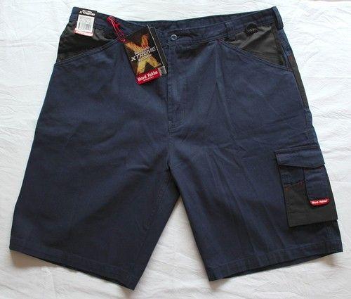 Hard Yakka Navy Xtreme Work Shorts Size 112R Style Y05901 17 Pockets RRP $69.95 #hardyakka