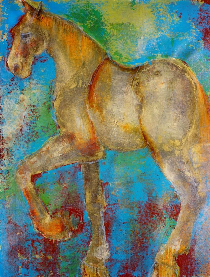 Maeve Harris--caballo del oro  J would love this!