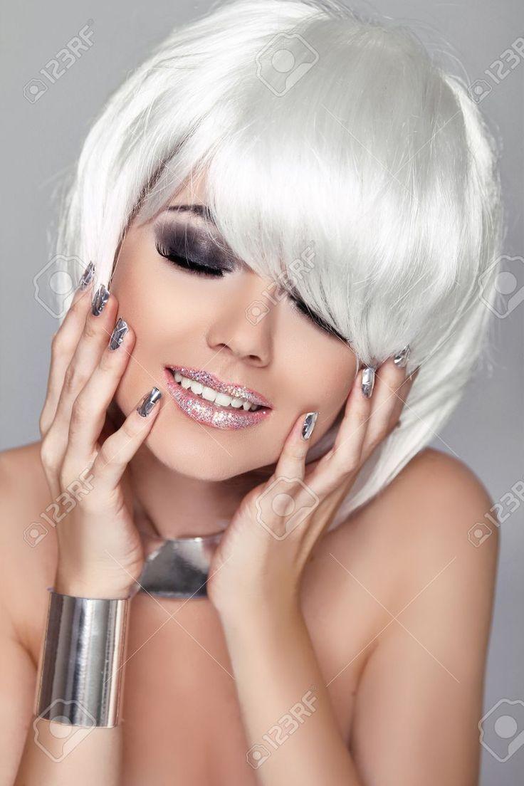 Best GÜMÜŞ SAÇLAR Images On Pinterest - Silver hair styles