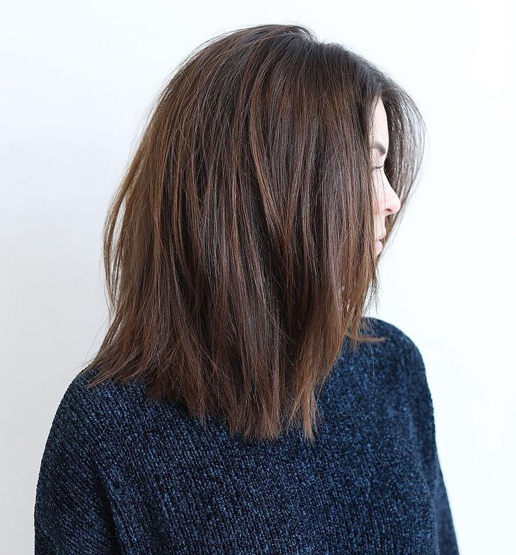 17 Best Ideas About Mid Length Hairstyles On Pinterest