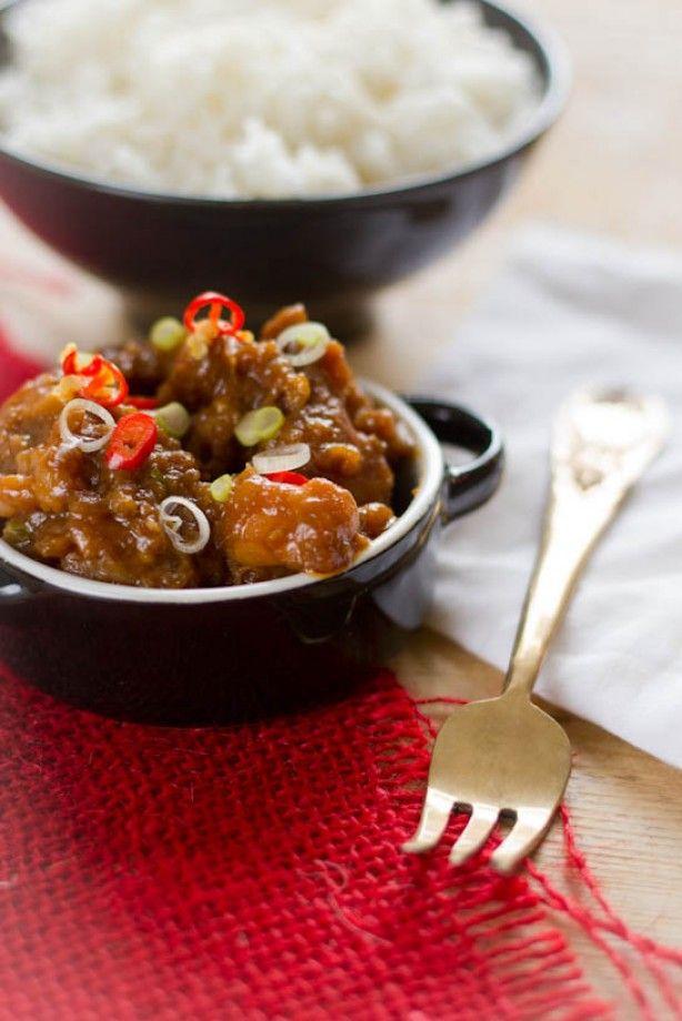 Hete kip met ketjap. Klaar in 15 minuten en doet niet onder voor de afhaal versie van de Chinees.