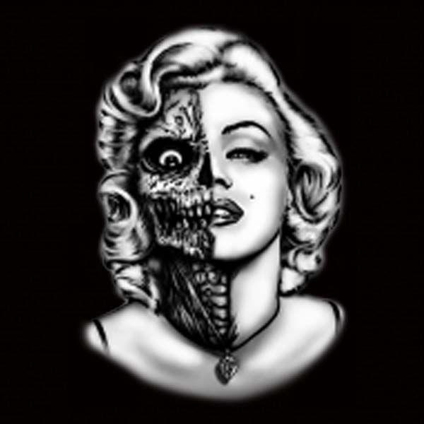 Marilynmonroe Zombie Printed Tshirts Amp Hoodies