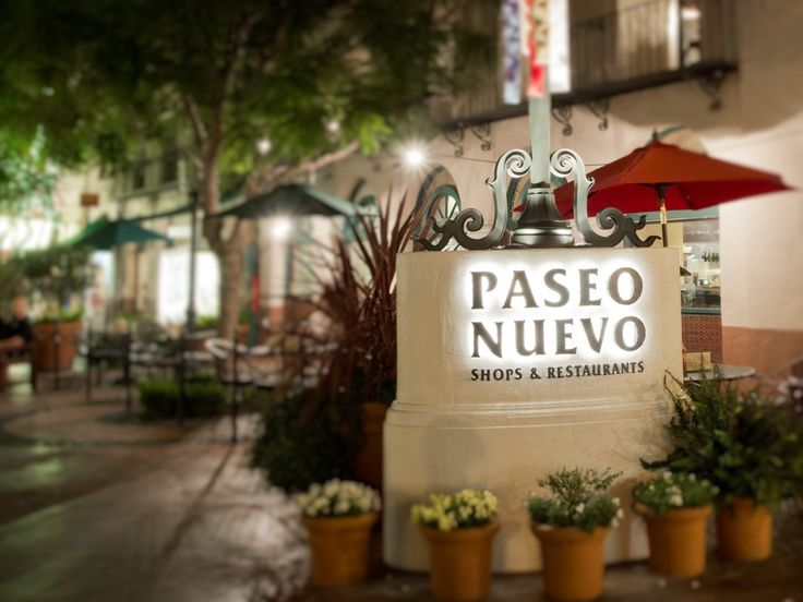 Paseo Nuevo is Santa Barbara's premier shopping destination in the heart of downtown! Shop Nordstrom and Macy's, Sephora, Victoria's Secret, Aveda and over 50 more shops. The beautiful paseos, courts and terrace lend a perfect setting for take a rest during a busy day of shopping. And when its time to refuel, visit Nordstrom Marketplace Café or Eureka! Gourmet Burgers...