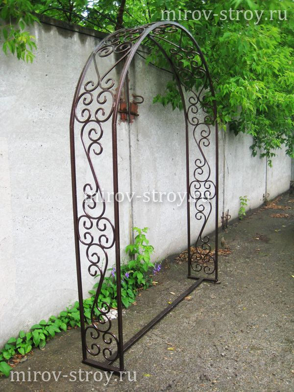 Садовая арка 04