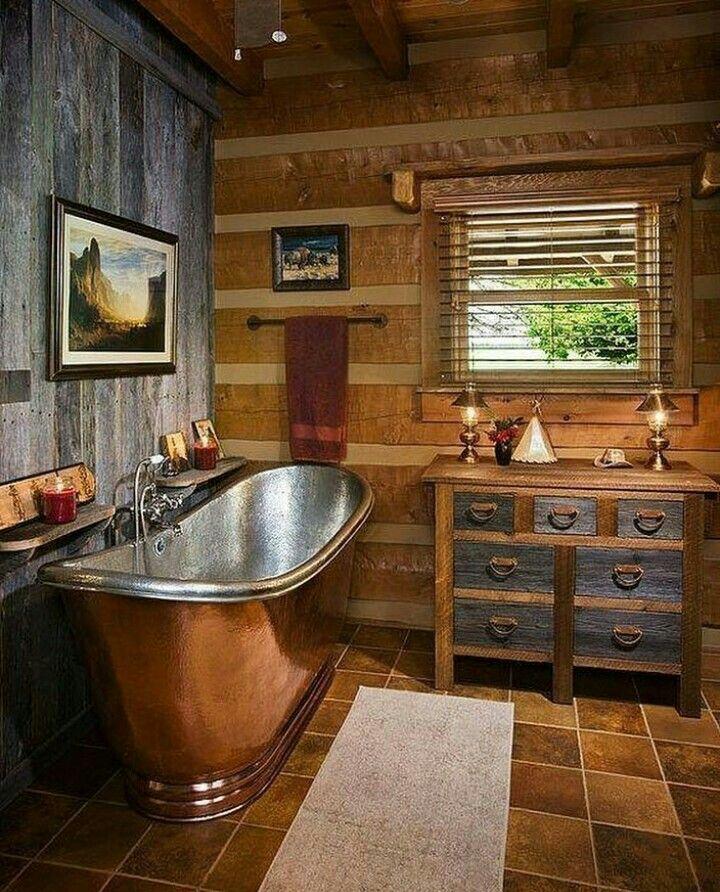Best 25+ Cabin bathrooms ideas on Pinterest | Cabin ...