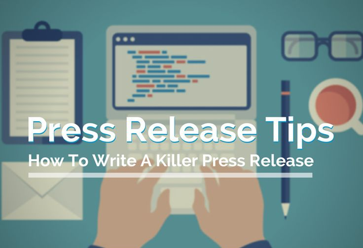 guidelines for writing a good press release