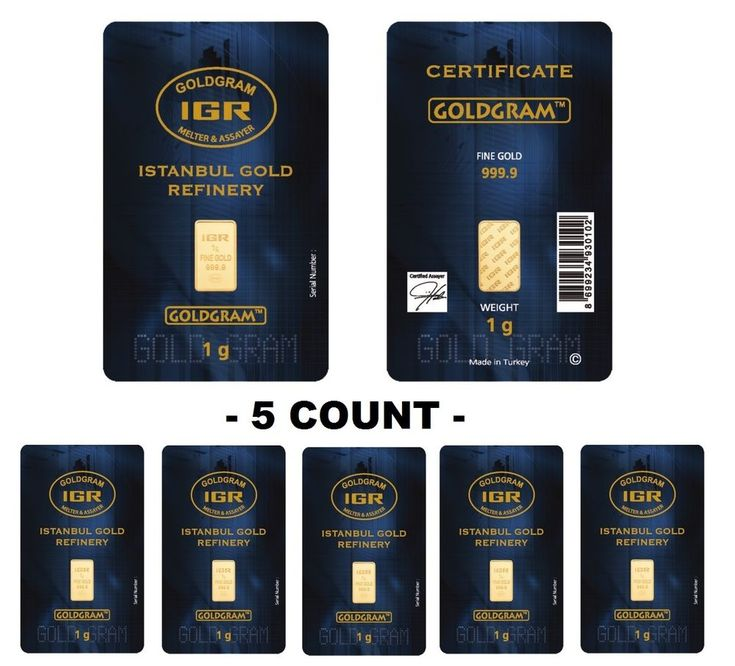 Lot of 5 - 1 Gram IGR Mint 999.9 Gold Bar Sealed with Assay Certificate 24 Karat. 5 START Seller! #goldfever #gold #fever #bar #ebay #future #proof #investing #investment #safest #safe #secure #best #bullion #rich #bullion #physical #where #to #buy #safely #no #risk #price #smart #clever #rich