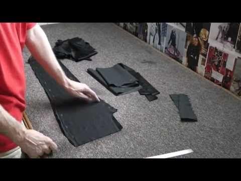 Крой и пошив брюк джинсового фасона.Курсы кройки и шитья - YouTube