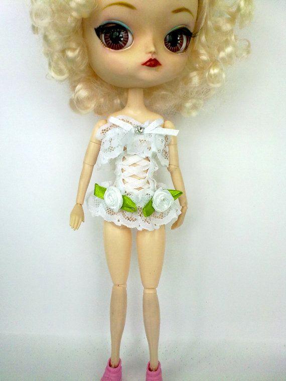 Vestiti per bambola Pullip, Blythe . Corsetto, top Pullip,Blythe . Pullip,Blythe vestito, fascion Pullip,Blythe