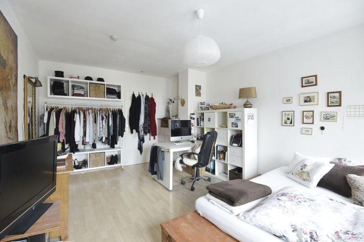 Großes geräumiges WG-Zimmer mit stilvoller und funktionaler Einrichtung: Kleid